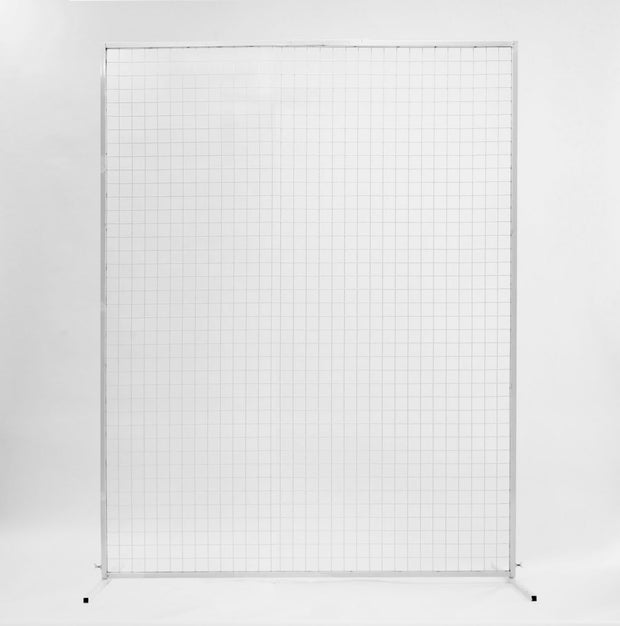 Wedding Flower Wall Mesh Frame - White (2x1.5m)