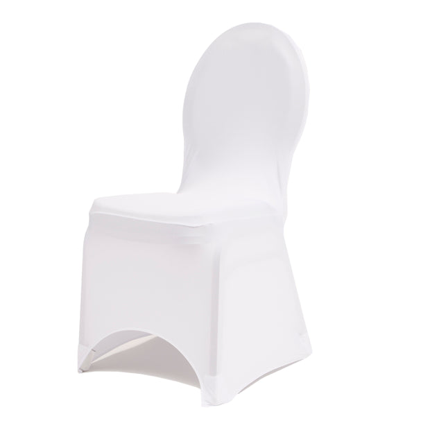 White Lycra Chair Covers (210gsm)