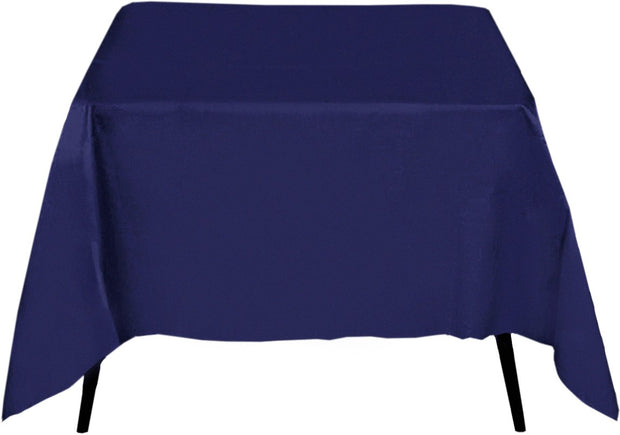 Navy Square Tablecloth (220x220cm)