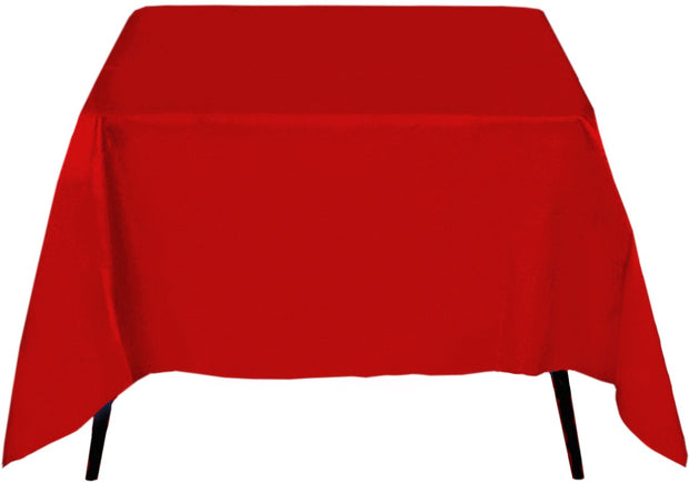 Red Square Tablecloth (220x220cm)