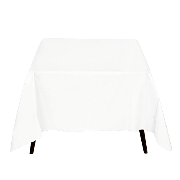 White Square Tablecloth (220x220cm)