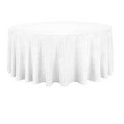 White Round Tablecloth (260cm)