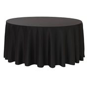 Black Round Tablecloth (300cm)
