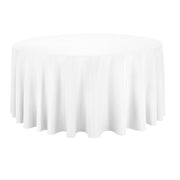 White Round Tablecloth (300cm)