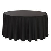 Black Round Tablecloth (320cm)