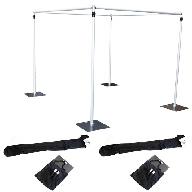 Stand Set for 1.8-3m Cube Backdrop Frame Deluxe
