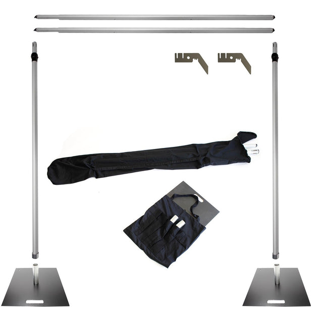 Stand Set for 3x3m Backdrop - Deluxe