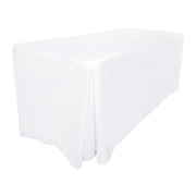 White Fitted Tablecloth (4ft)