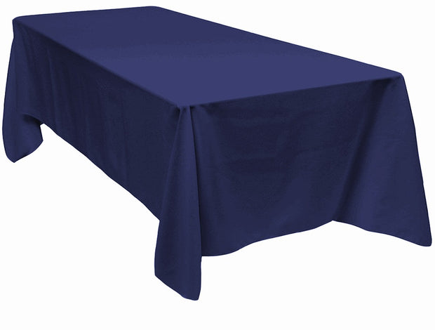Navy Rectangle Tablecloth (137x244cm)