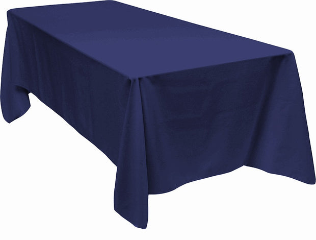 Navy Rectangle Tablecloth (153x259cm)