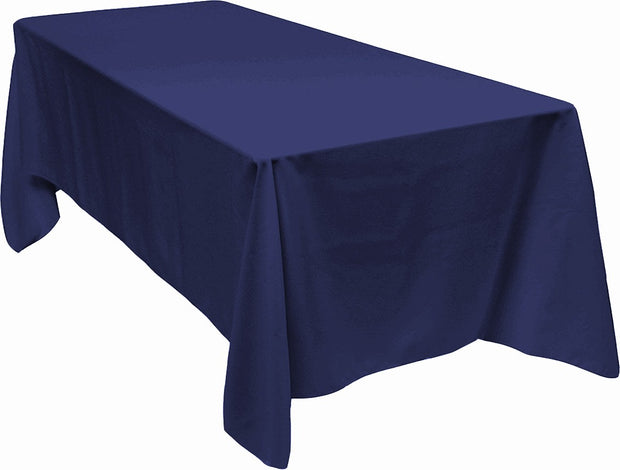 Navy Rectangle Tablecloth (153x320cm)