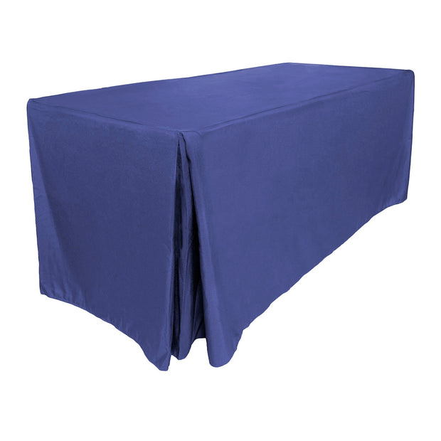 Navy Blue Fitted Tablecloth (6ft)