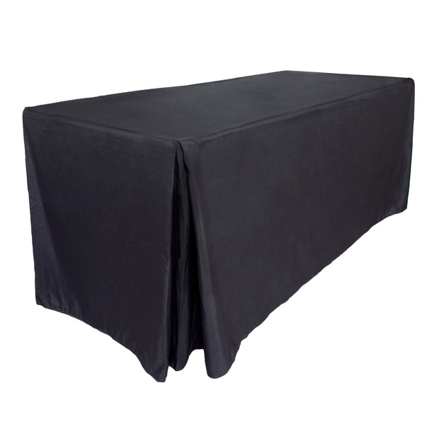 Black Fitted Tablecloth (8ft)