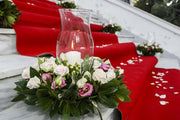 Aisle Runner / Red Carpet - 12m Length In Setting 2