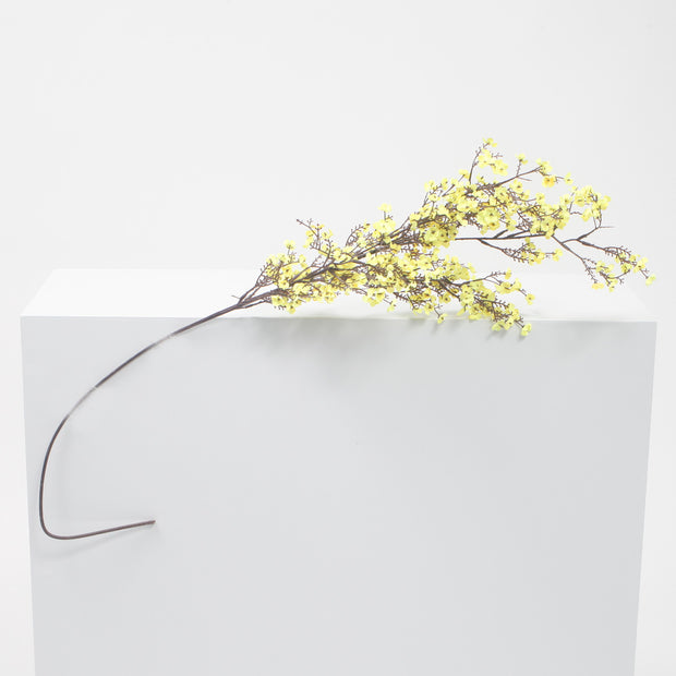 Large Cherry Blossom Branch - Yellow (1.1m)