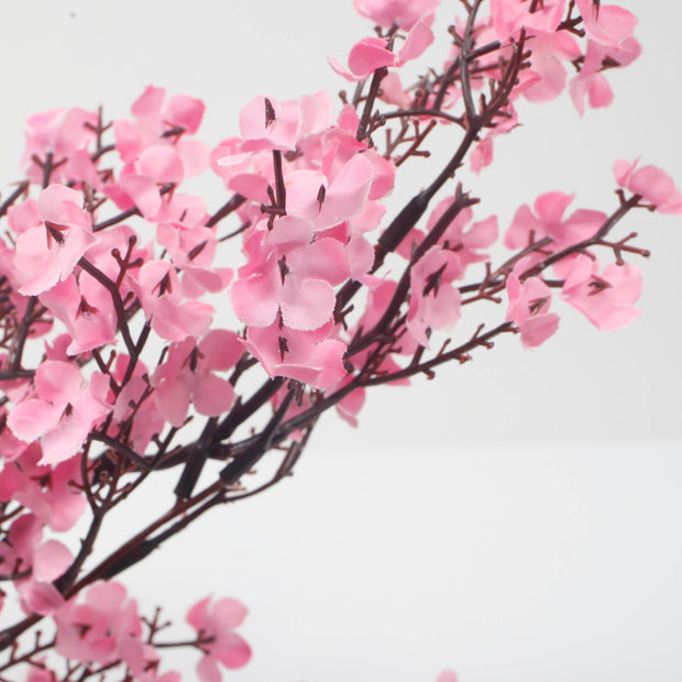 Small Cherry Blossom Branch - Pink (50cm) Close Up