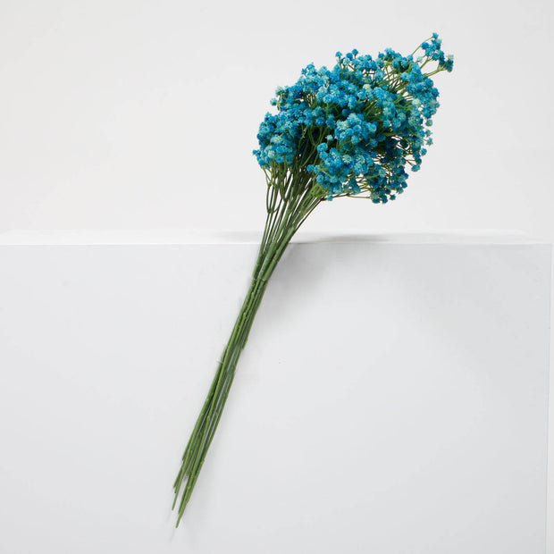 Baby Breath Bouquet Premium - Light Blue (60cm)