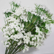 Baby Breath Bouquet Premium - White (60cm) Close C