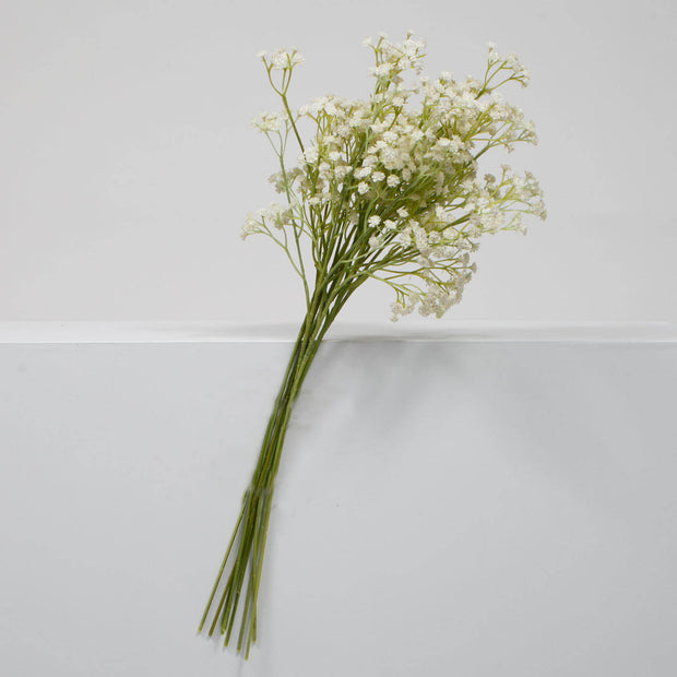 Baby Breath Bouquet Filler Stems - White (60cm)