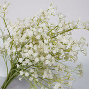 Baby Breath Bouquet Filler Stems - White (60cm) Close B