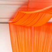 Ceiling Drape Ice Silk Satin Panel
