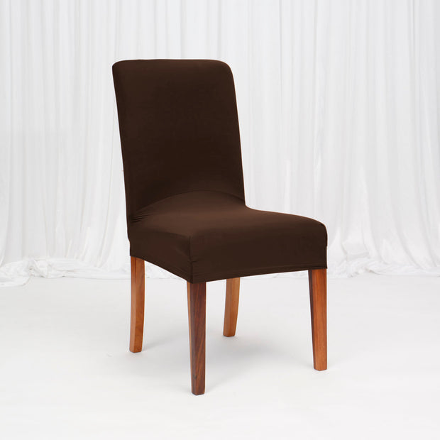 Lycra Chair Covers (Toppers) - Chocolate Brown