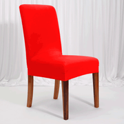 Lycra Chair Covers (Toppers) - Bright Red
