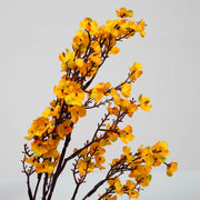 4 x Small Cherry Blossom Branches - Orange (50cm) Close