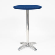 Cocktail Dry Bar Table Covers - Navy Blue (70cm Topper)