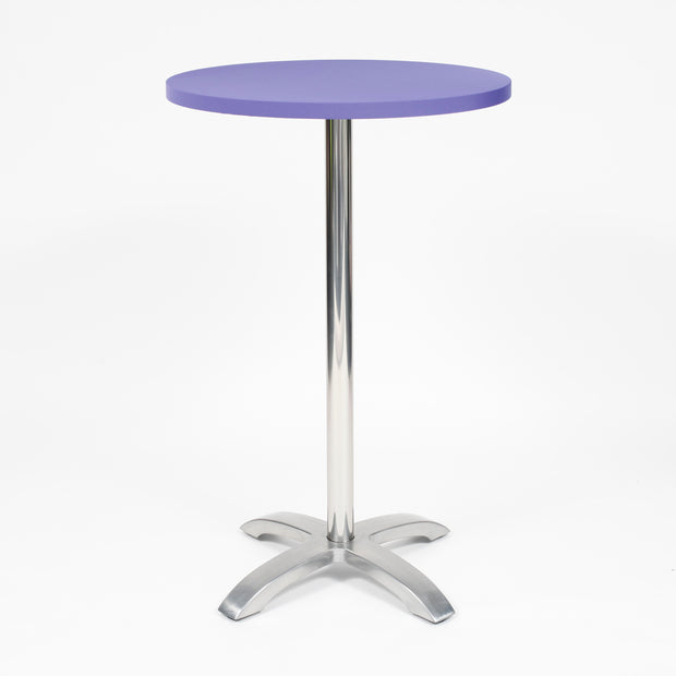 Purple Spandex Cocktail Table Cover