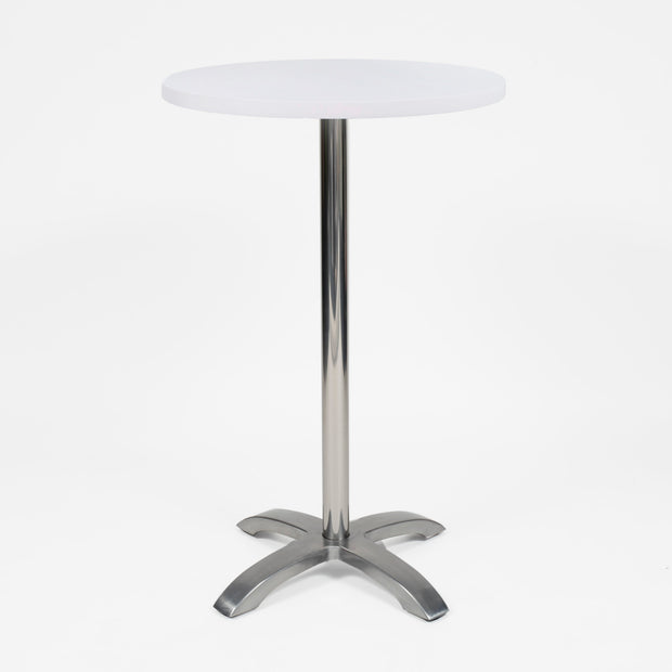 White Spandex Cocktail Table Cover