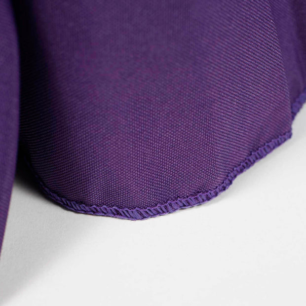 Purple Fitted Tablecloth with Pleated Table Skirting for 6ft Trestle Tables Stitching