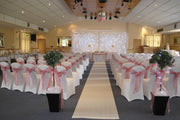 Hessian Roll -  Aisle Runner / Hessian Tablecloth / Bulk Hessian Fabric - 10m Length At Reception