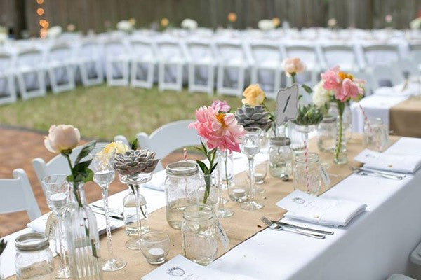 Hessian Table Runner - 10m roll