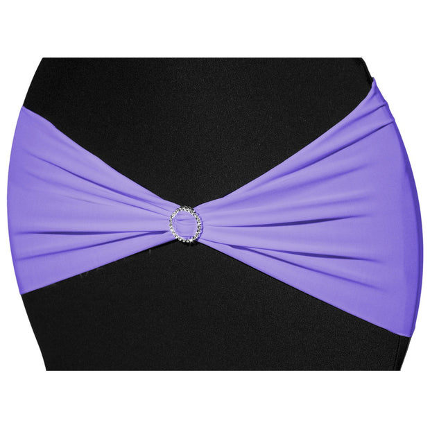 Lycra Chair Bands - Lavender