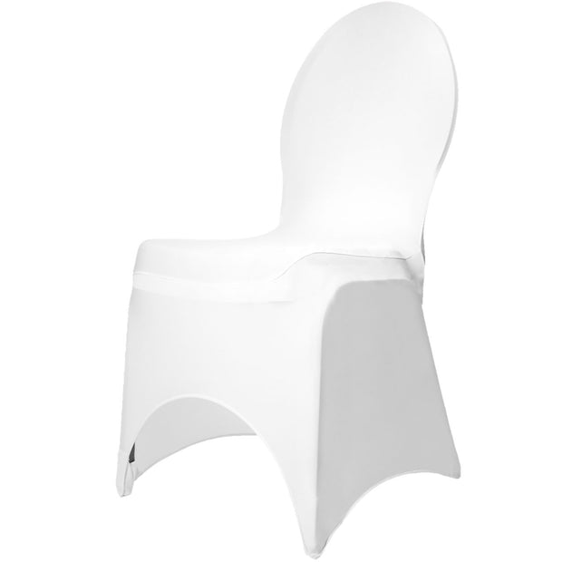 White Lycra Chair Covers (190gsm)