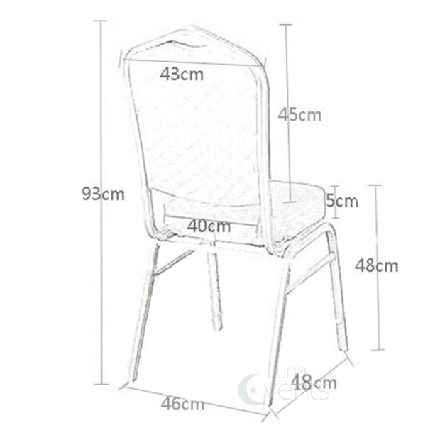 Banquet Chair Dimensions