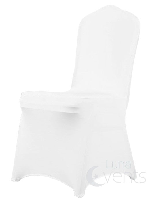 White Lycra Chair Covers alternate chair (210gsm)