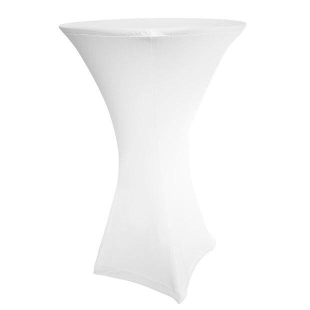 White Dry Bar Covers (Square Base) 70cm Tops