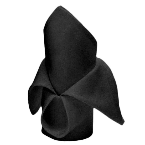 Cloth Napkins - Black (50x50cm)