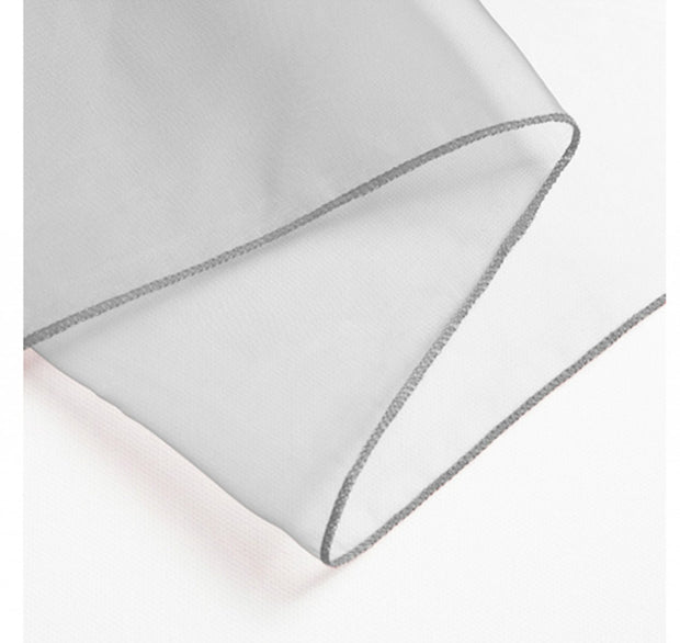 Organza Chair Sashes detail - Silver