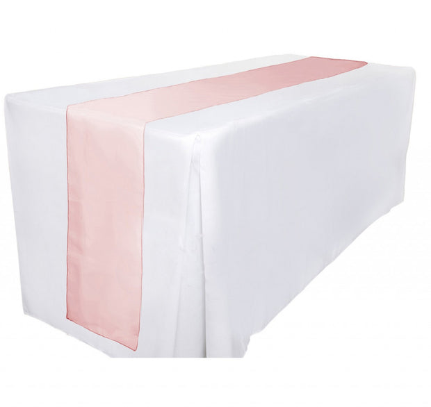 Organza Table Runners - Red Table View