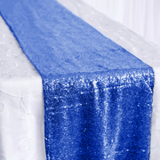 Sequin Table Runner - Royal Blue