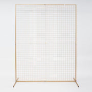 Wedding Flower Wall Mesh Frame - Square Edge - GOLD (2mx1.5m)
