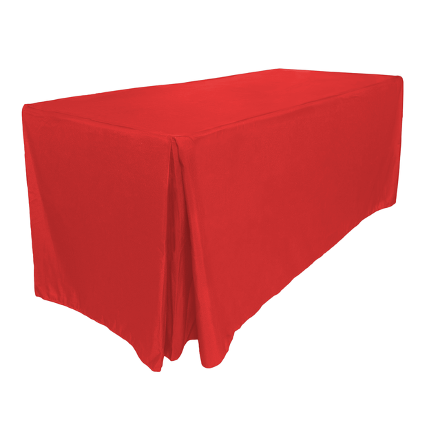 Red Fitted Tablecloth (6ft)