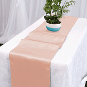 Satin Table Runners - Blush
