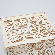 Wishing Well Wedding Card Box - Mr & Mrs Floral