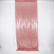Rose Gold Sequin Backdrop Curtain 3m x 1.25m