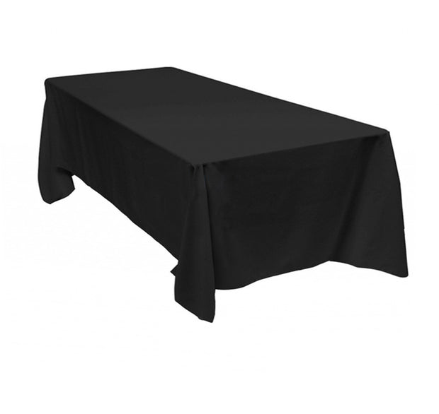 Black Rectangle Tablecloths (153x259cm)