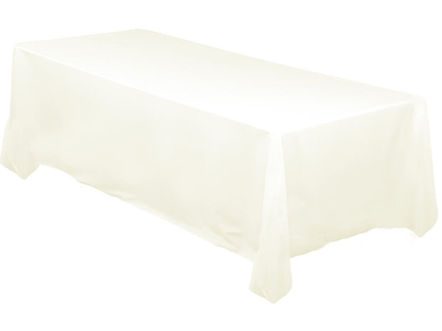 Ivory Rectangle Tablecloth (153x320cm)